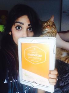 Amrita & Richard Parker both love Kiersten's eBook!